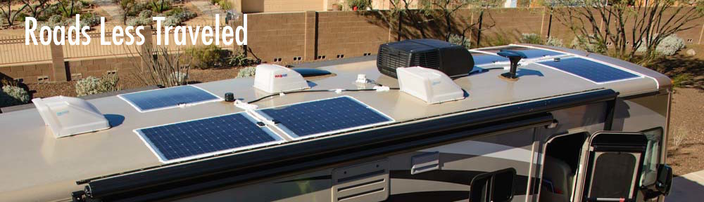 RV Solar Panel Installation Motorhome