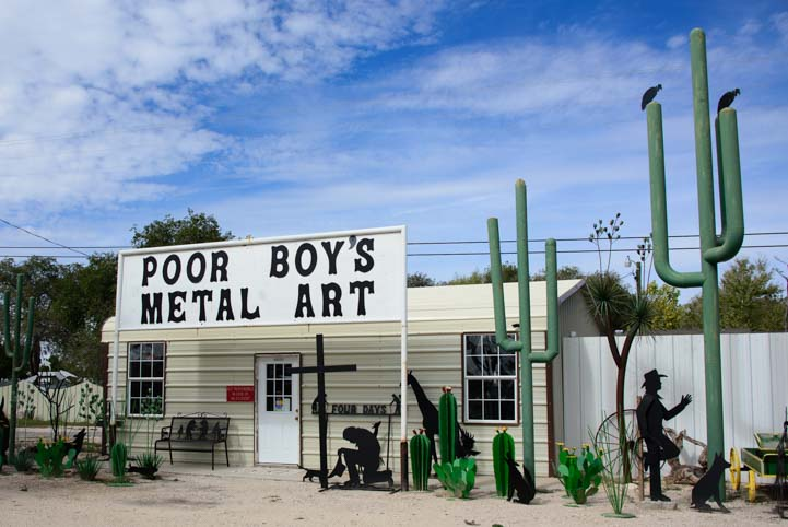 Poor Boy's Metal Art Workshop Juan Manuel Carbajal Tatum New Mexico