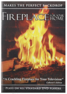 Fireplace DVD How to stay warm in an RV