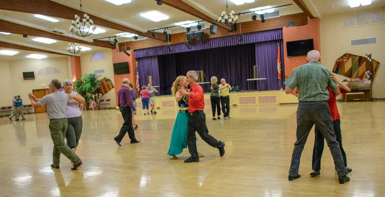 Ballroom Dancing Monte Vista RV Resort Arizona