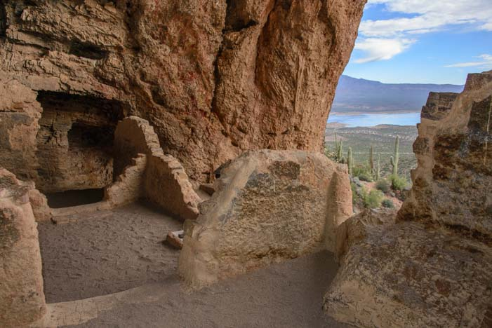 Tonto National Monument Arizona Lower Cliff Dwellings
