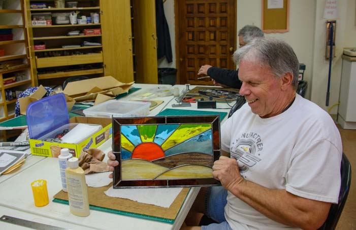 Monte Vista Village RV Resort Stained Glass Studio