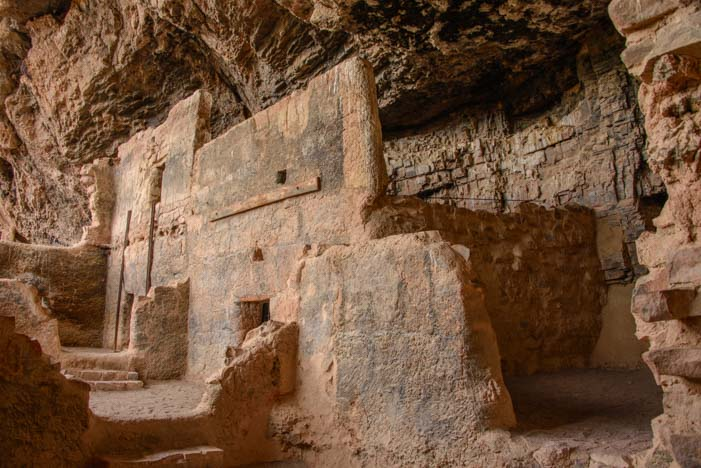 Lower Cliff Dwellings Tonto National Monument Arizona