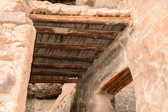 Tonto National Monument Salado Cliff Dwelling Ceiling
