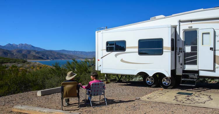 RV camping and boondocking in Arizona