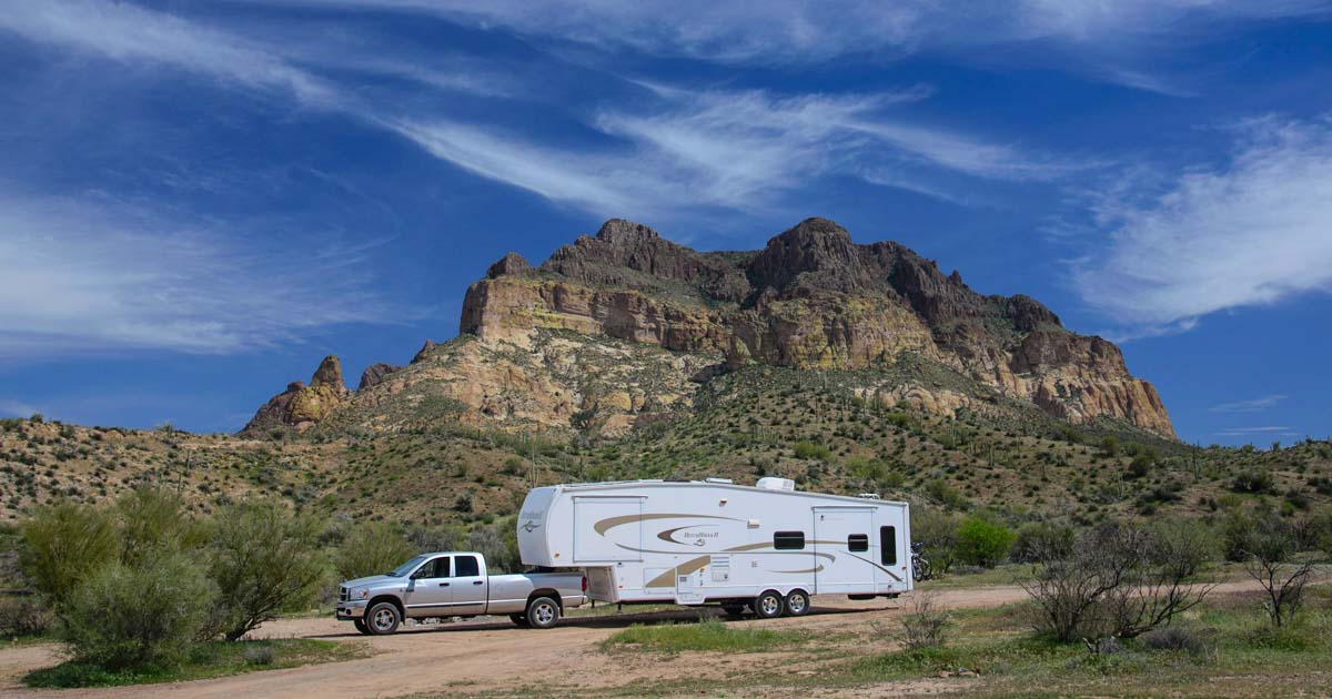 Copper Mines Not Camping In Tonto National Forest Why