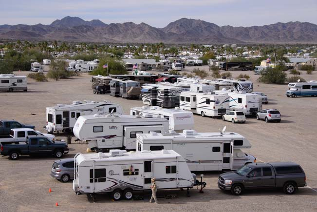 Quartzsite Arizona RV Show