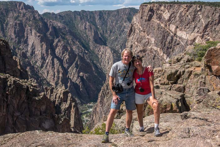 Hiking Black Canyon of the Gunnison Colorado