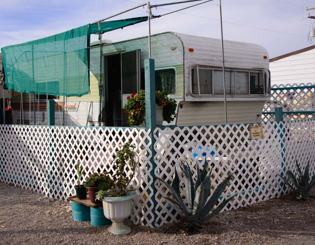 Quartzsite Arizona RV in RV Park