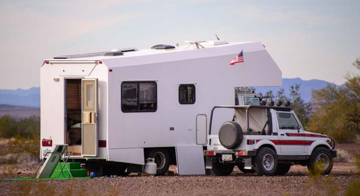 Unusual Class C Motorhome in Arizona