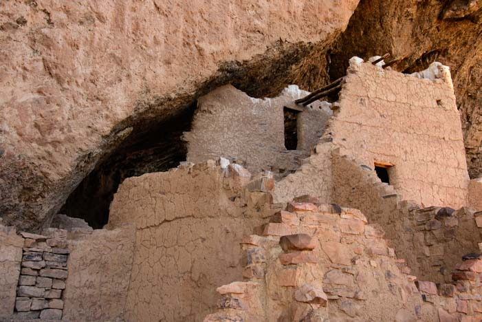 Upper Cliff Dwellings Tonto National Monument Arizona