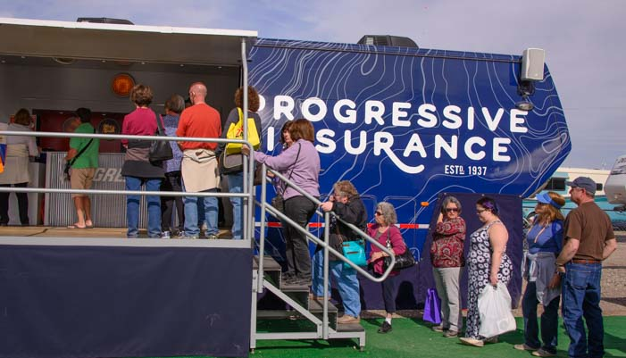 Progressive Insurance Quartzsite RV Show