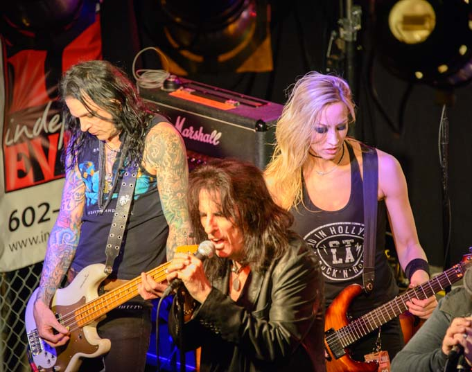 Alice Cooper band in concert Cooperstown Phoenix Arizona