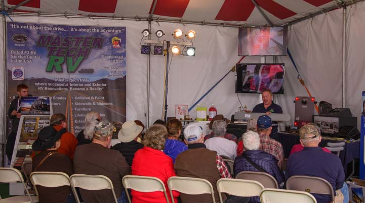 RV seminars Quartzsite RV Show Arizona