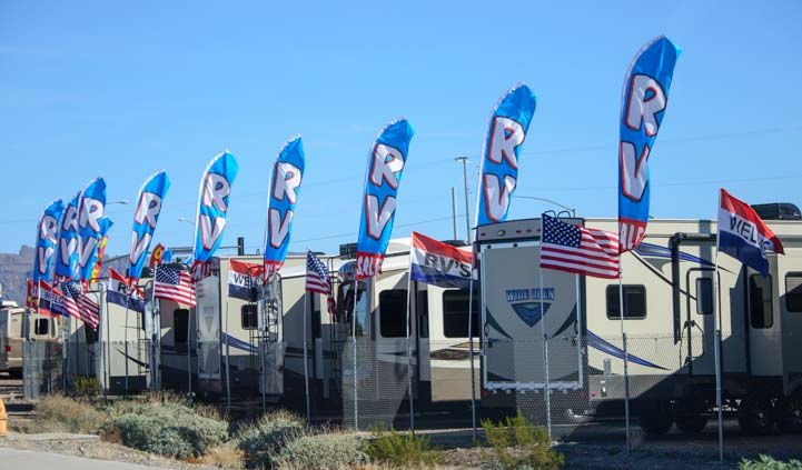 RV Sales Quartzsite Arizona