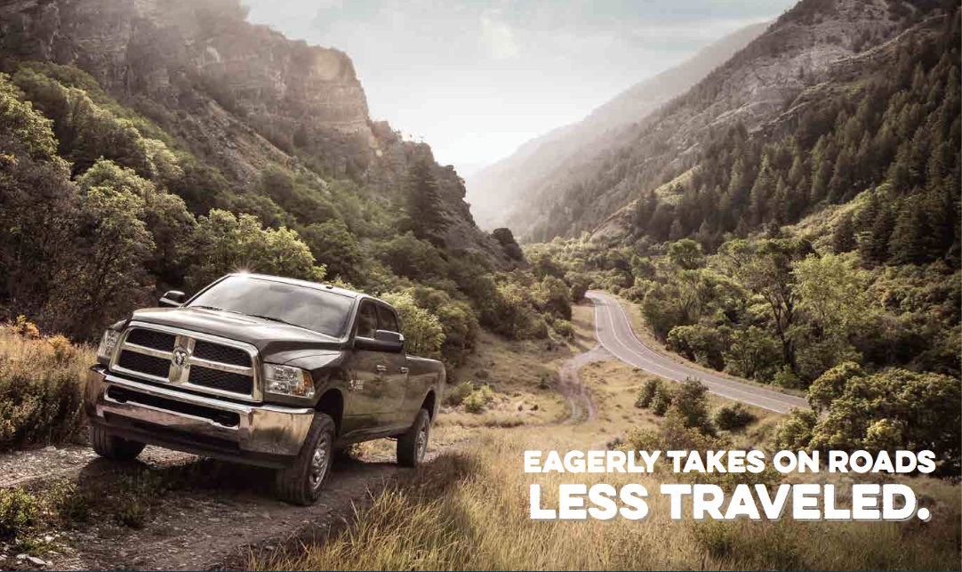 Dodge RAM Brochure Cover