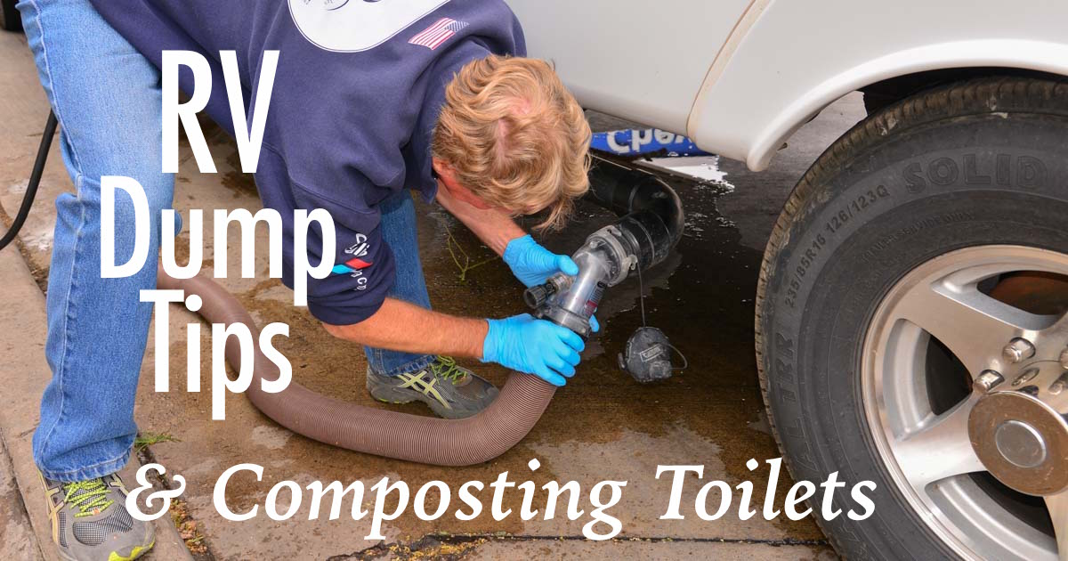 Dirty Little Secrets from the RV Dump + Composting Toilets