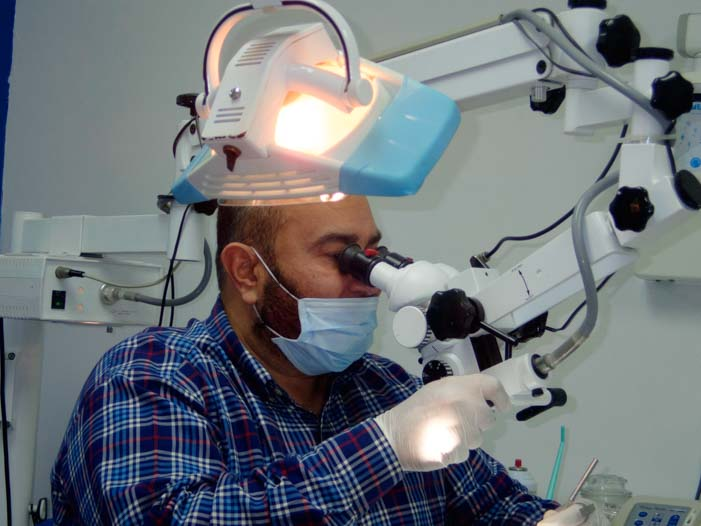 Mexican dentists Dr. Horacio Avila Endodontist San Luis Mexico