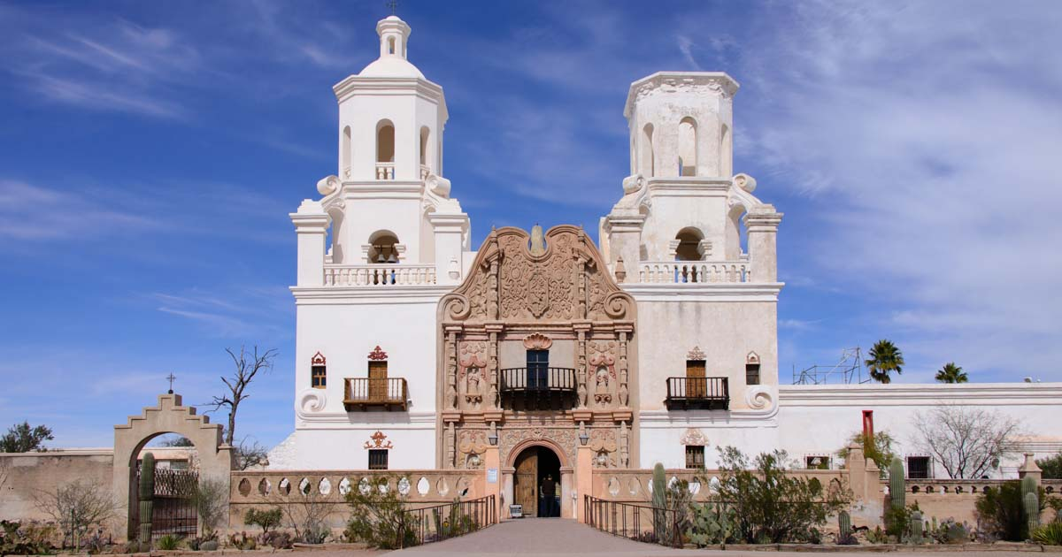 San Xavier Mission - Spanish Colonial Architecture in ...