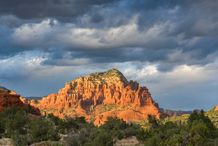 Bell Rock Pathway Golden Hour Sedona Arizona
