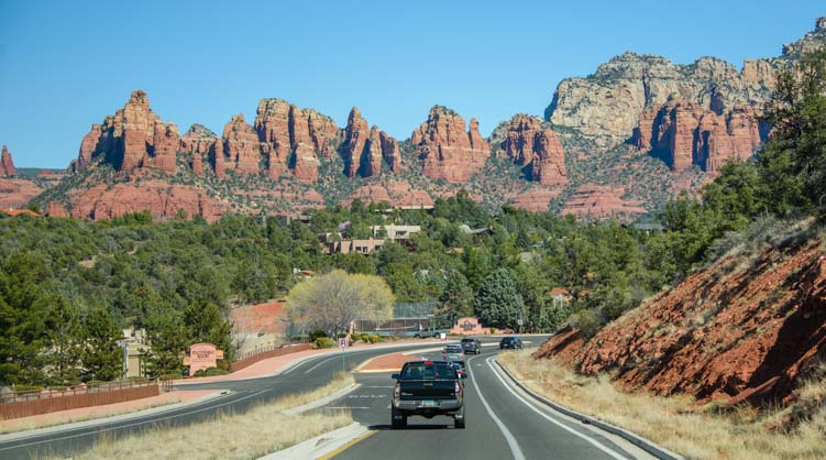 RV adventure in Sedona Arizona and scenic drives