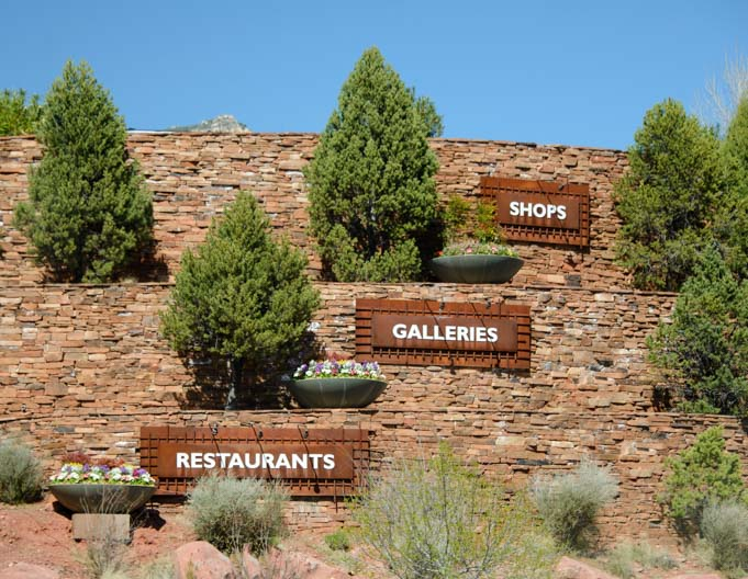 Restaurants Galleries Shops Sedona Arizona