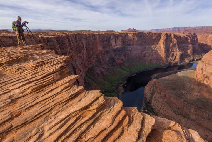 Photographer Horseshoe Bend Arizona