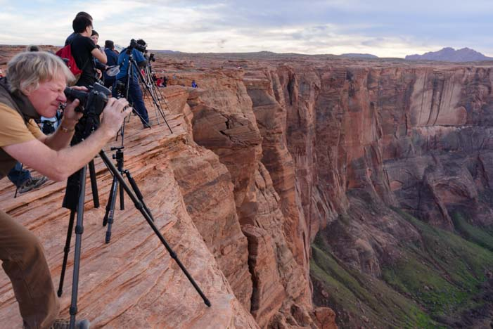 Photographers Horseshoe Bend Arizona