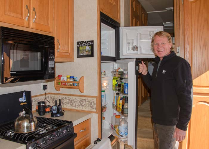 How to defrost an RV refrigerator