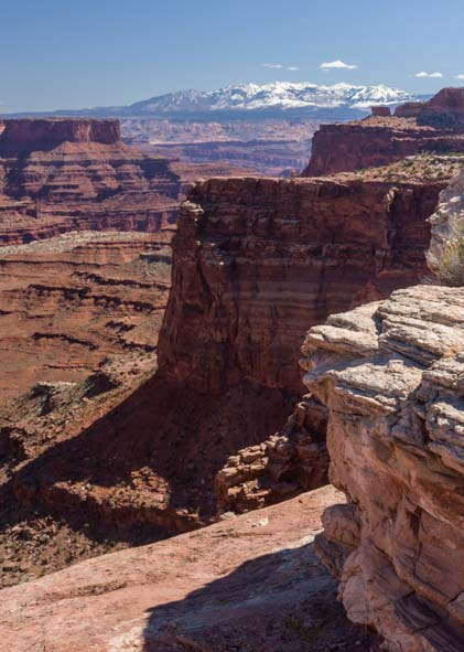 Canyonlands Shafer Canyon Island in the Sky District Utah photography