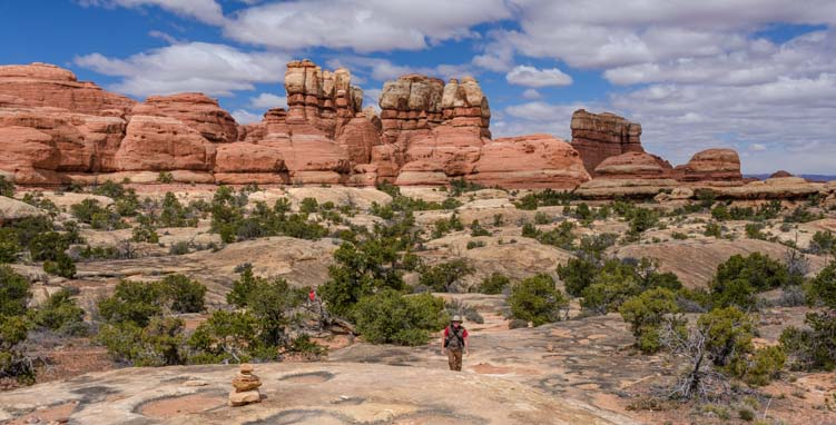 Chesler Park Hike Canyonlands Needles District Utah