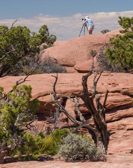 Photography at Canyonlands National Park Island in the Sky District Utah