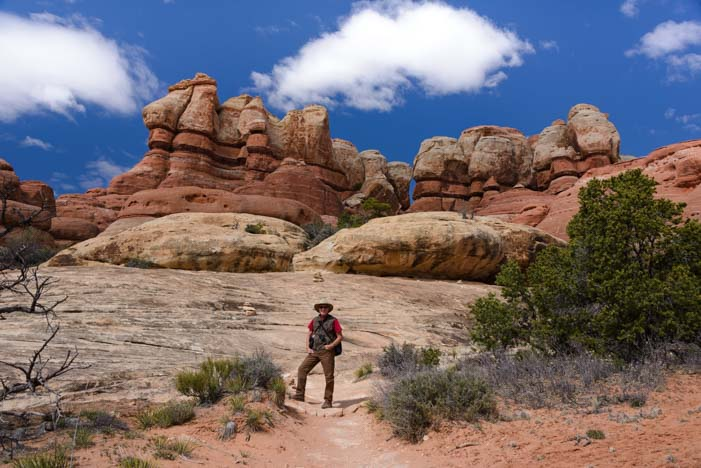 Hiking Canyonlands Needles District Utah