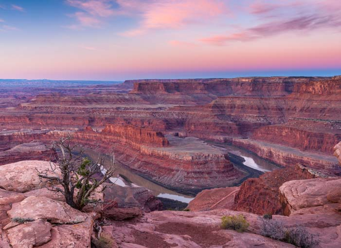 Sunrise at Dead Horse Point State Park Utah