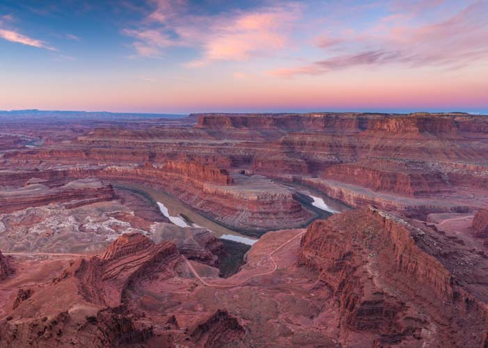 Dead Horse Point State Park Utah sunrise