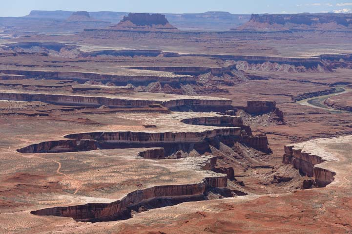 Canyonlands National Park  Grand View Point Overlook Island in the Sky Utah photography camping