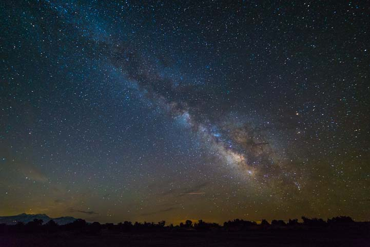 Milky Way Canyonlands National Park Utah Island in the Sky RV camping
