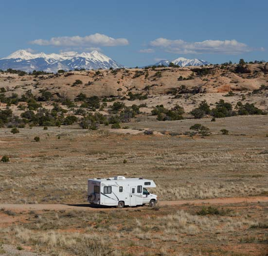 RV Canyonlands National Park Island in the Sky Utah