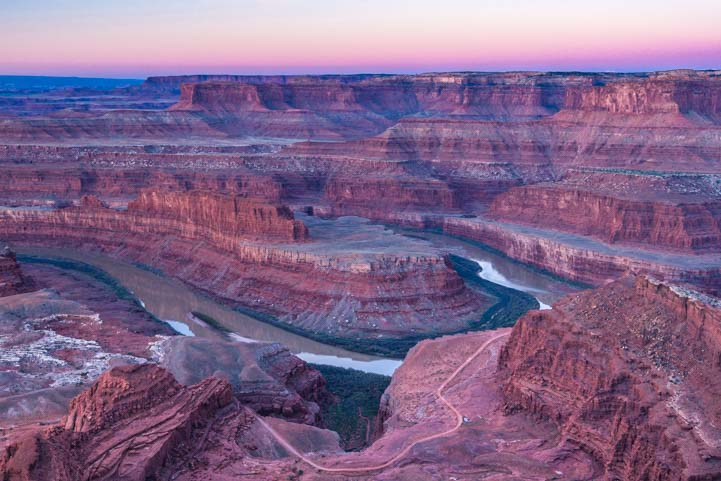 Dead Horse Point State Park Utah Before Dawn