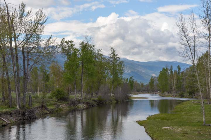Bitterroot River Bitterroot Valley Montana