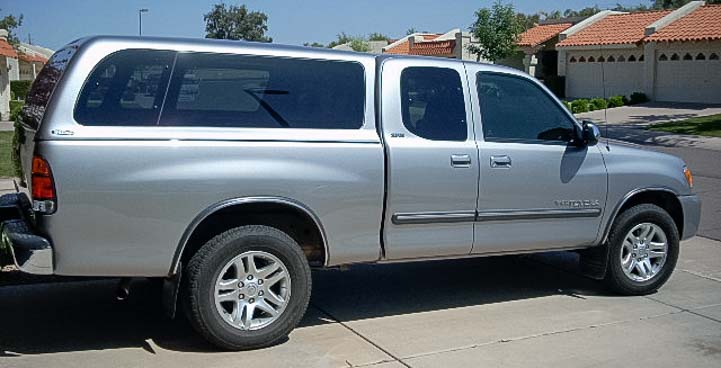 2004 Toyota Tundra for full-time RV travel