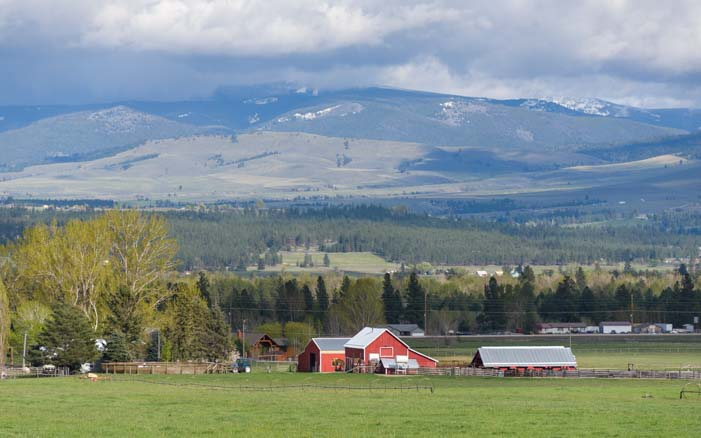 Ranch land Stevensville Montana