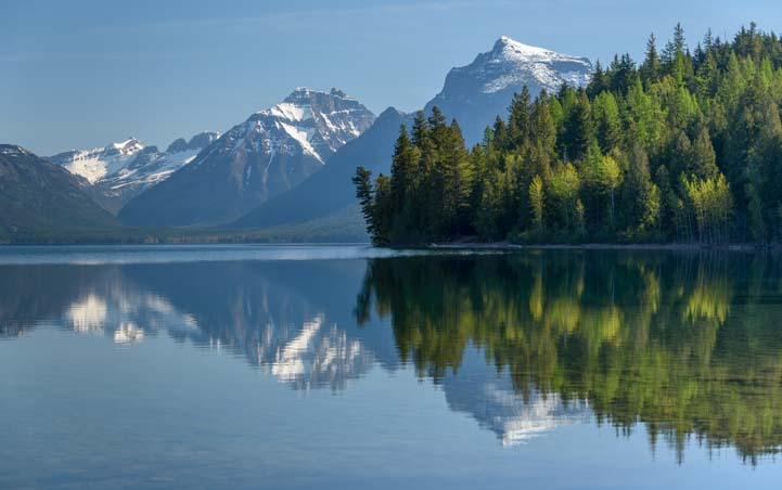 Lake McDonald Glacier National Park RV travel
