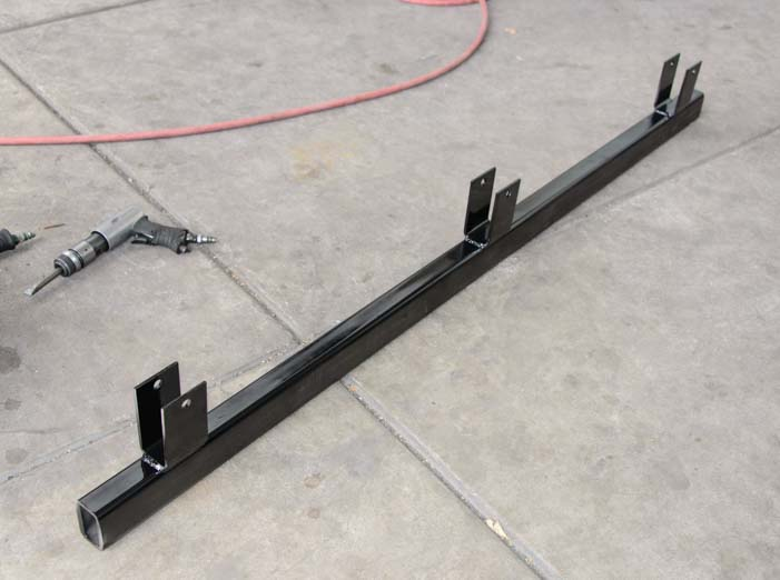 New custom trailer leaf spring hanger