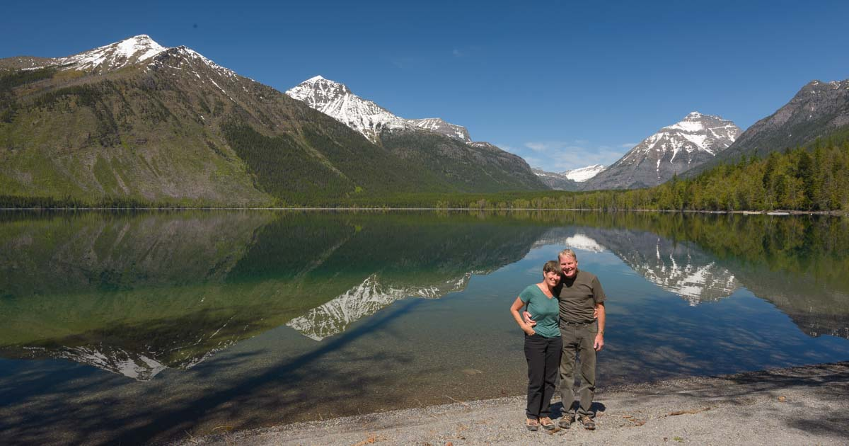 Glacier National Park in Montana - Mirrors at Lake McDonald : Roads ...