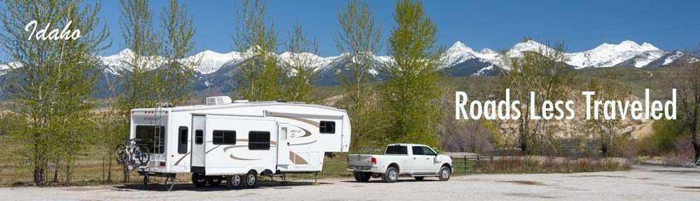 Idaho RV camping travel Salmon River