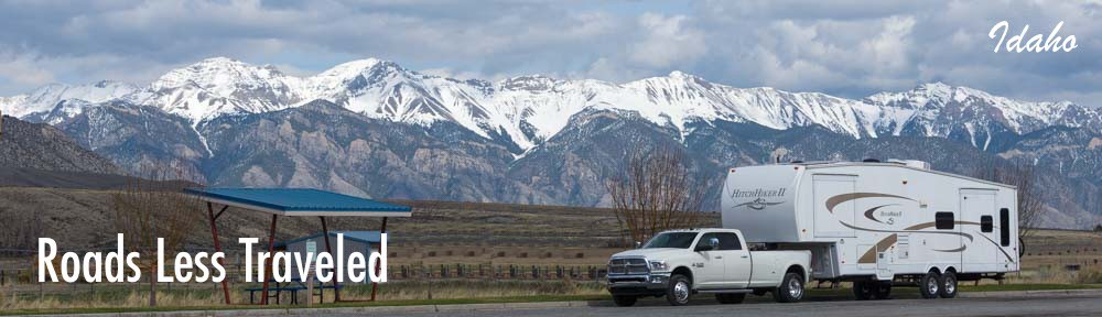 backcountry RV in Idaho roadtrip travel and camping