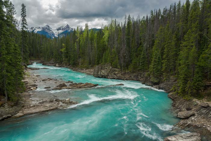 Yoho National Park British Columbia Natural Bridge