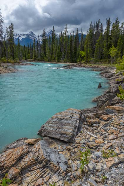 Natural Bridge Yoho National Park British Columbia Canada