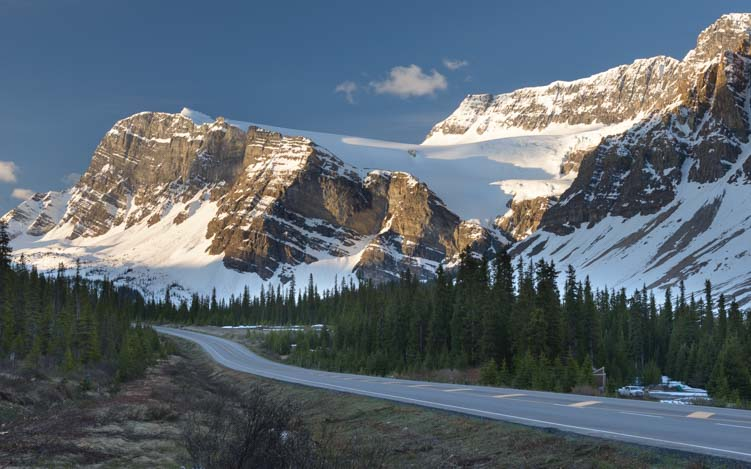 Bow Lake Icefields Parkway Banff Canada
